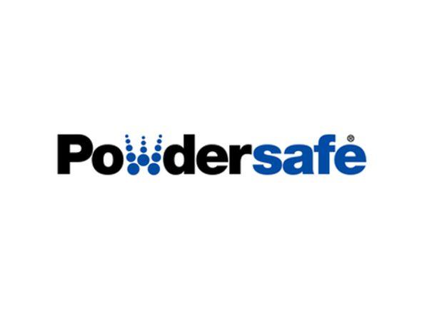 Powdersafe exhibitor
