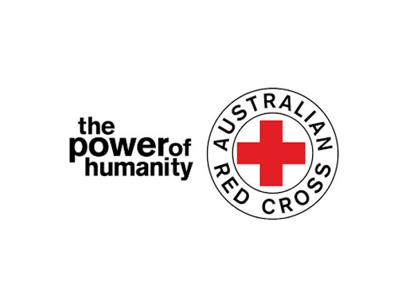 Red Cross exhibitor